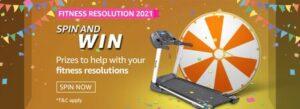 amazon fitness resolution quiz answer.