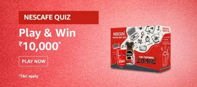 Amazon Nescafe Cheeky Mug Quiz