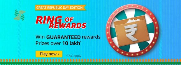 amazon great republic day edition ring of rewards quiz
