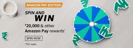 Amazon Pay Edition Spin And Win Quiz