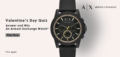 Amazon Armani Exchange Quiz
