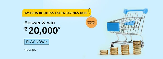 Amazon Business Extra Saving Quiz