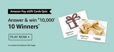 Amazon Pay eGift Cards Quiz