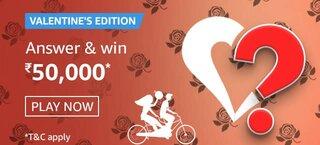 amazon valentines edition quiz