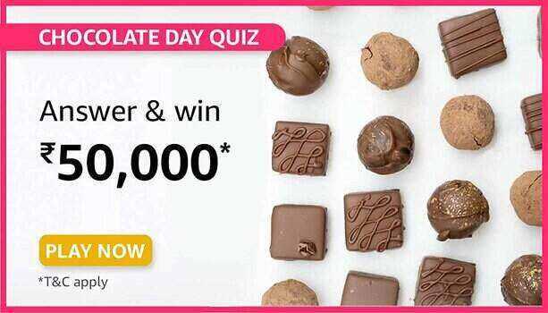 Amazon Chocolate Day Quiz Answers